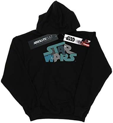 Star Wars Damen Death Star Jumble Logo Kapuzenpullover Schwarz Large