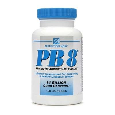 Nutrition Now - PB 8 Pro-biotiques Acidophilus - 120 Capsules (pack de 2)