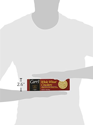 Carr's Whole Wheat Crackers, 7-Ounce Boxes (Pack of 6) by Carr's (Image #10)