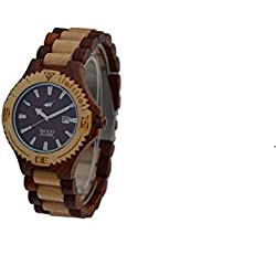 Wood Mark Men's Potomac Red Sandalwood & Maple Watch