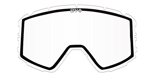 Spy Optic Raider Snow Goggles, Clear - Goggles Replacement Spy Lenses