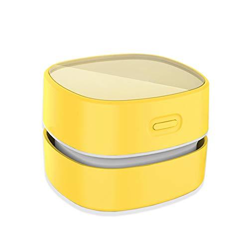 ODISTAR Desktop Vacuum Cleaner, Mini Table dust Sweeper Energy Saving,High Endurance up to 400 mins, Cordless&360