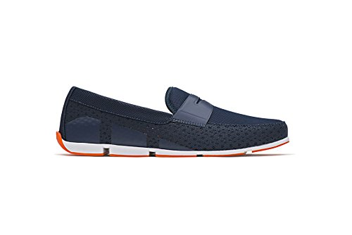 SWIMS Men's Breeze Penny Loafer For Pool and Summer, Lightweight & Flexible - Navy, 11 by SWIMS