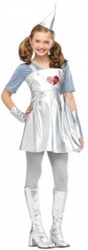 Tin Gal Costume - Small (Tin Man Costume For Girls)