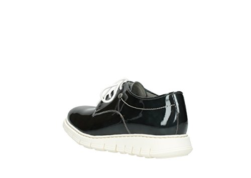 Comfort Antracite Up Lace 60270 Diurna Wolky Luce Scarpe Vernice 81Erxq85wv