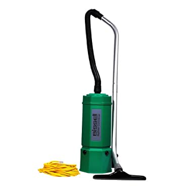 Bissell BG1006 BigGreen Commercial  High Filtration Backpack Vacuum, 1080W, 22.5 Height, 6 qt Capacity