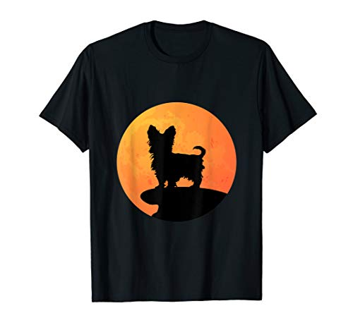 Yorkshire Terrier Halloween Costume Dog Owner T-Shirt ()