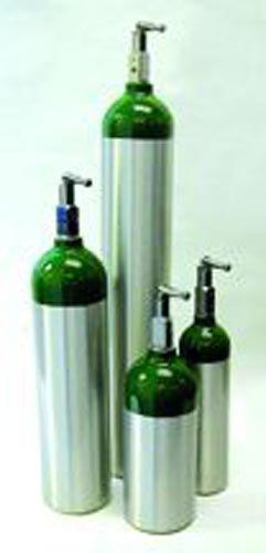 Oxygen 'E' Cylinder- 682 Liter w/Toggle (28 H)