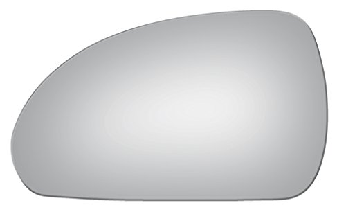 2006 - 2012 Mitsubishi Eclipse Driver/Left Side Replacement Mirror Glass W/O Backing Plate