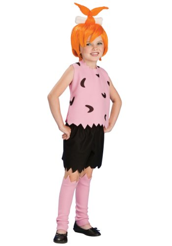 Girls Pebbles Flintstone Costumes (Flintstones Pebbles Kids Costume)
