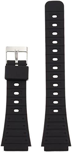 [クレファー]CREPHA 時計ベルト 20mm ウレタン バネ棒 工具付き ブラック KU-29