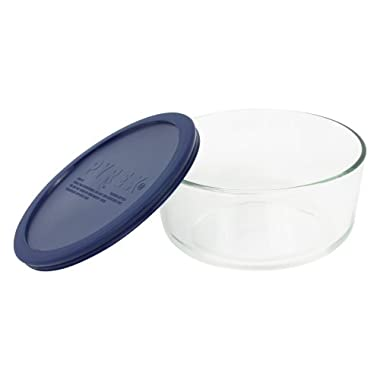 Pyrex Storage Plus 7-Cup Round Glass Food Storage Dish