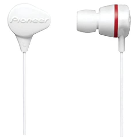 Pioneer SE-CL331-H Headphones, White (Discontinued by Manufacturer) (Pioneer Noise Cancelling)