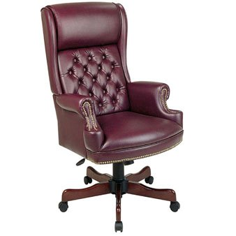 Deluxe High-Back Executive Chair with Arms