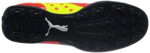 Puma evoPOWER 4 TT Herren Fußballschuhe Rot (fluro peach-ombre blue-fluro yellow 01)