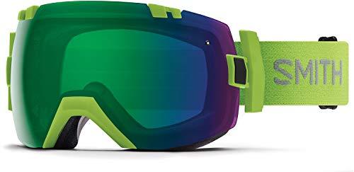 (Smith Optics I/Ox Adult Snow Goggles - Flash/Chromapop Everyday Green Mirror)