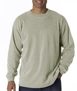Comfort Colors Ringspun Garment-Dyed Long-Sleeve T-Shirt 2XL SANDSTONE (Twill Sandstone Shirt)