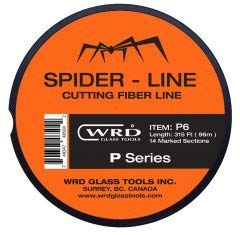 WRD Spider Line P6 Series Super Thin Cutting Line 315 Feet