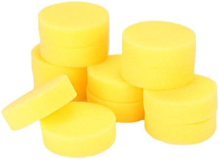 Sedeta 12PCS cepillo suave esponja Cojín Cubo de rueda de ...