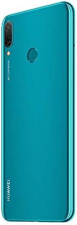 Huawei Y9 2019 (JKM-LX2) 4GB / 64GB 6.5-inches Dual SIM Factory Unlocked - International Stock No Warranty (Sapphire Blue)