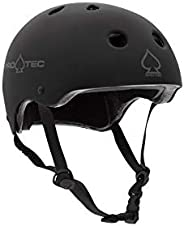 Pro-Tec Classic Safety Certified Skate and Bike Helmet, Small, Matte Black
