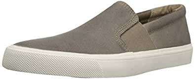 206 Collective Men's Shaw Slip-On Fashion Sneaker, Stone, 7 D US