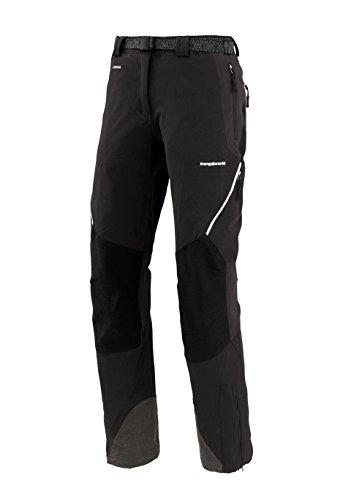 TRANGO Uhsi Pantalon Femme Noir/Noir-611 FR : XL (Taille Fabricant : XL (- 5 cm))