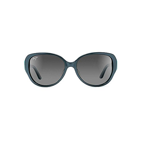 Maui Jim - Swept Away - Blue Grey With Teal Interior Frame-Neutral Grey Polarized Lenses by Maui