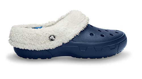 crocs Unisex Mammoth EVO Lined Clog,Navy/Oatmeal,9 M US