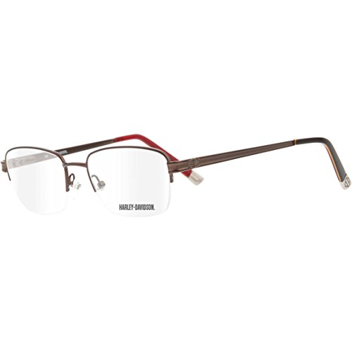 dc7f151b86f516 Harley Davidson - Montures de lunettes - Homme marron Brown with Red Taille  Unique