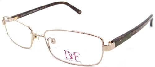 New Dvf Diane Von Furstenberg Rx Eyeglasses Frames Dvf8003 718 53x16 - Cheap For Frames Eyeglasses