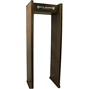 Multizone Zone Walk Through Metal Detector - Great for Schools, Retail, Events