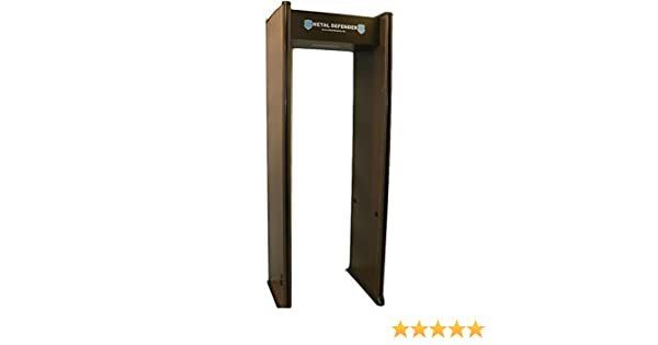 Amazon.com : Multizone Zone Walk Through Metal Detector - Great for Schools, Retail, Events : Complete Surveillance Systems : Garden & Outdoor