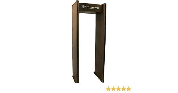 Amazon.com : Multizone Zone Walk Through Metal Detector - Great for Schools, Retail, Events : Complete Surveillance Systems : Garden & Outdoor