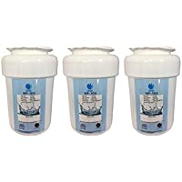 GE MWF, GWF, GWFA, GWF01, GWF06, MWFA SmartWater Compatible Premium Replacement Refrigerator Water Filter (Pack of 3)