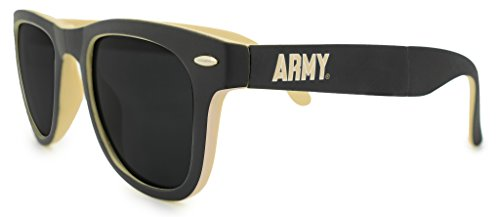 NCAA Army Black Knights (U.S. Military Academy, West Point) Game Day Sunglasses with Microfiber Carrying Case/Pouch - Fully - U.s. Army Sunglasses