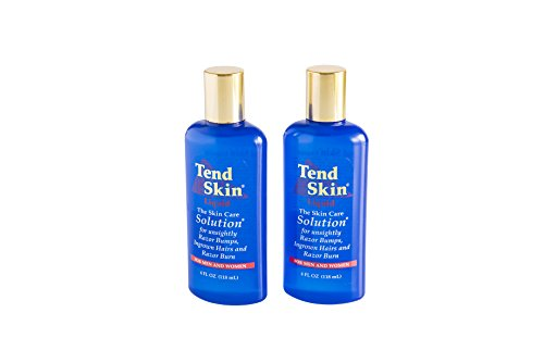 Tend Skin Care Solution for Ingrown Hair & Razor Bumps, 4 oz, 'Pack of 2'