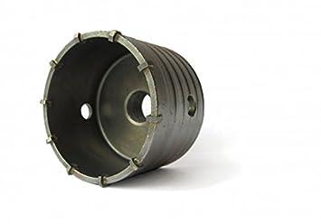 Gut gemocht Bohrkrone Dosenbohrer Ø 60 mm - mit M22 Gewinde: Amazon.de: Baumarkt TF51