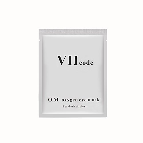 VIIcode O2M Oxygen Eye Pads for Dark Circles - Reduces Puffiness, Crow's Feet, Fine Lines and Bags - Most Effective Treatments for Dark Circle 1 Box /6 Pairs by VIIcode (Image #1)