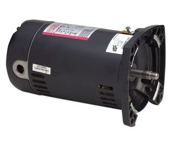 1 hp 3450 RPM 48Y Frame Square Flange 115/230V Pool Motor Century # USQ1102 (Century Pool Pump Motors)