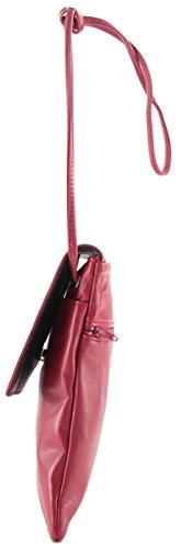 PO155734 Femme Cuir Capucine histoireDaccessoires Rubis Pochette Rouge GE vqwvfC