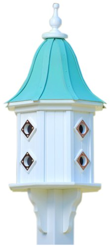 The Birdhouse Chick - Copper Dovecote Birdhouse-PVC 36x14 (Bell Lazy Hill)