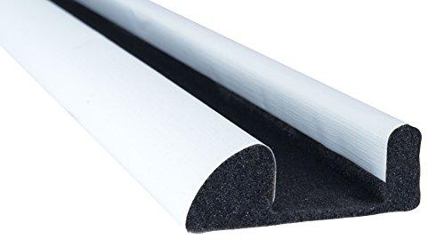STORMGUARD Internal Foam Under Door Draught Excluder - White by STORMGUARD