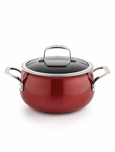 Belgique 3qt Soup Pot With Lid Red