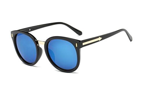 JC Polarized womens Cat-eye (Black, Blue mercury - Me Mens Sunglasses Near