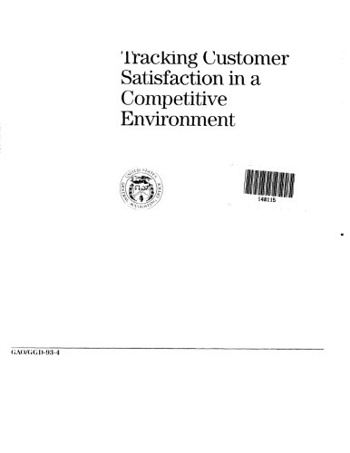Tracking Customer Satisfaction in a Competitive Environment