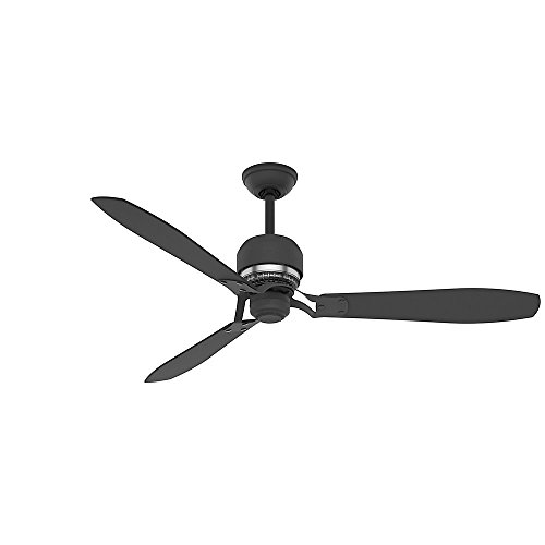 - Casablanca 59505 Tribeca 60-Inch 3-Blade Ceiling Fan with Graphite Blades and Included Remote, Graphite