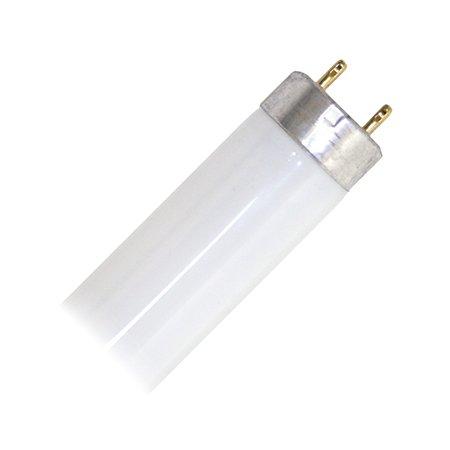 GE Lighting 45756 T8 Straight Linear Fluorescent Lamp 25 Watt 2-Pin G13 Base 2080 Lumens 78 CRI 4100K 36 Inch Length Ecolux Starcoat