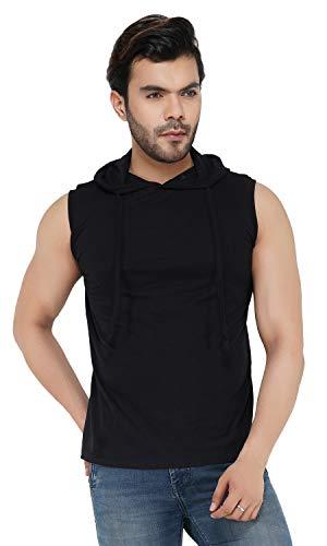 Rock Paper Scissors Men's Plain Gym Vest | Sleeveless T-Shirt | Scoop Neck T Shirt | Sleeveless Hoodie T-Shirt |Sleeveless T Shirt Workout Hoodie