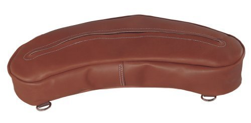 Weaver Leather Chap Leather Cantle Bag, Brown by Weaver Leather
